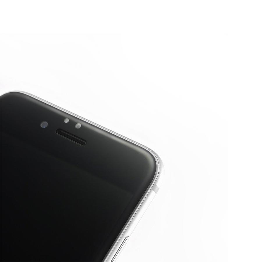 Folie sticla 3D iPhone 6 Plus cu margini curbate si flexibile