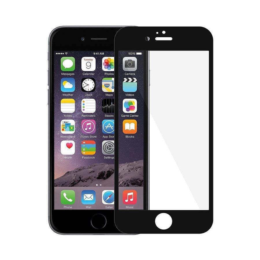 Folie sticla 3D curbata iPhone 7 Plus margini flexibile