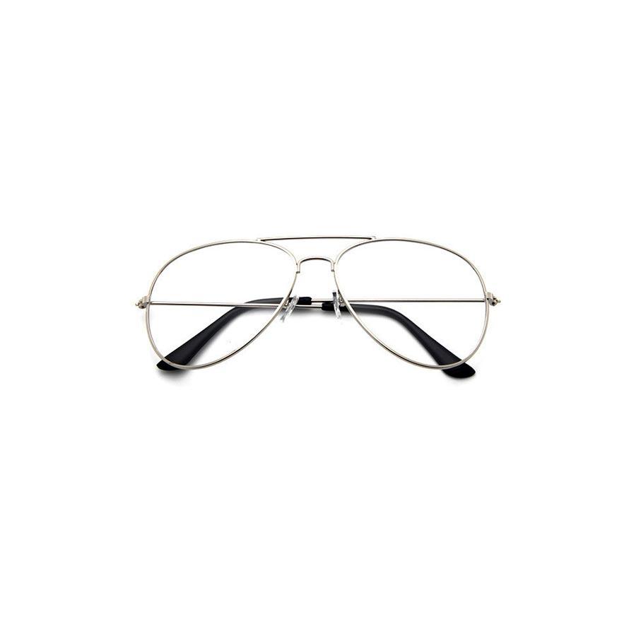 Ochelari lentile transparente stil Vintage cu protectie UV400