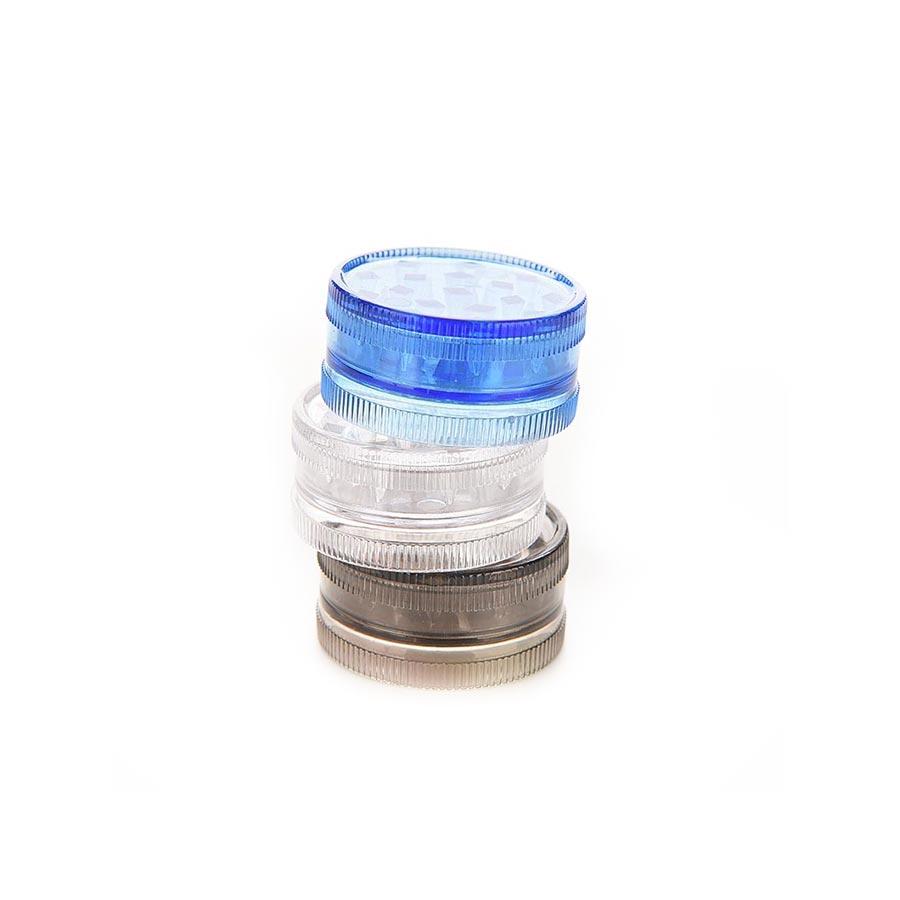 Grinder tutun compact din plastic rezistent