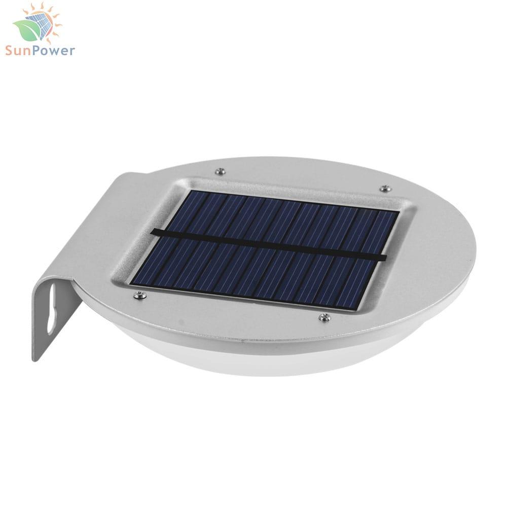 Lampa solara perete aluminiu IP65 16 LED 2.1W 300lm