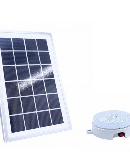 Lampa solara tavan pentru interior IP55 18 LED 8W 880lm