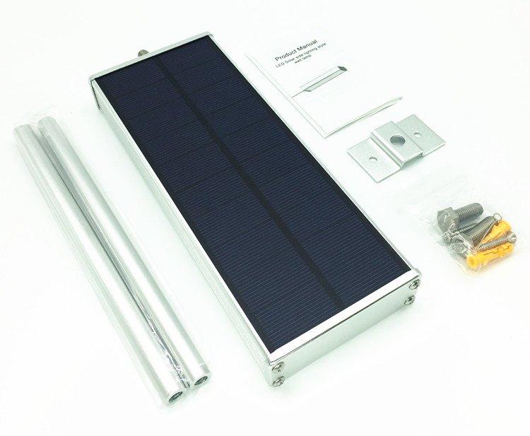 Lampa solara stradala senzor miscare radar IP65 48LED 9.6W 1000lm