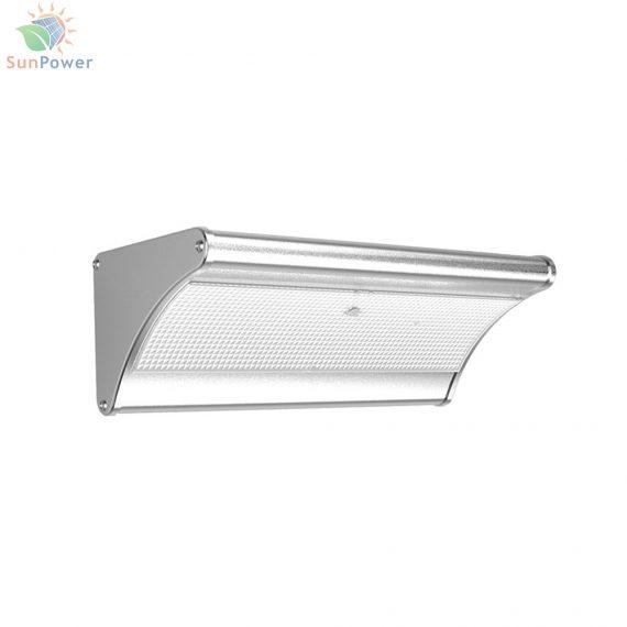 Lampa solara senzor miscare radar IP65 60 LED 8.1W 1100lm