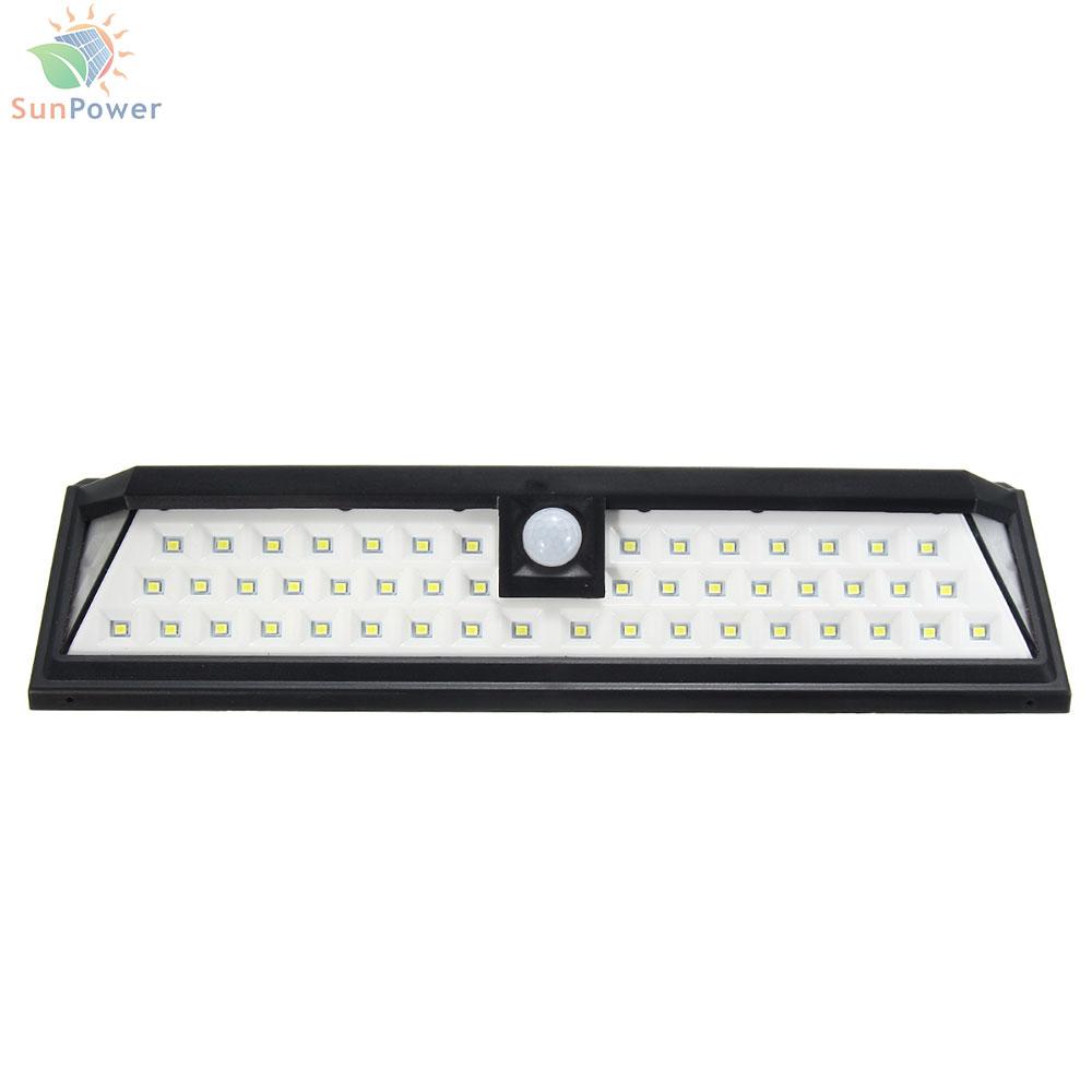 Lampa solara perete senzor miscare IP65 54 LED 3.5W 440lm