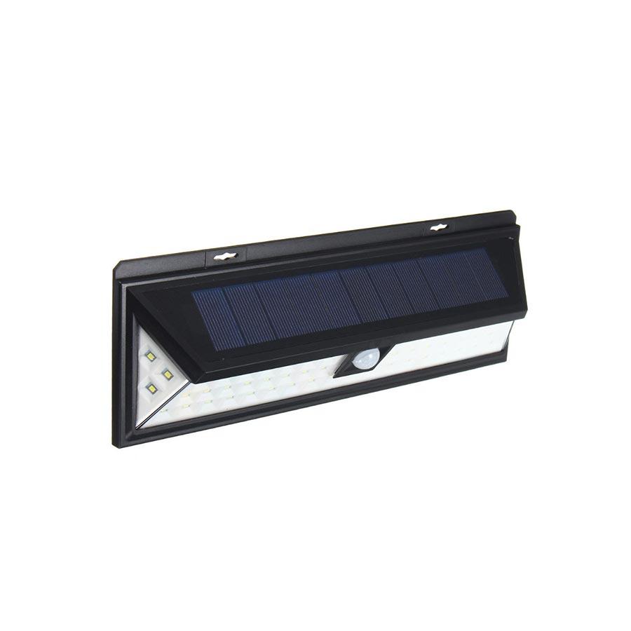 Lampa solara senzor miscare IR IP65 90 LED 7W 800lm