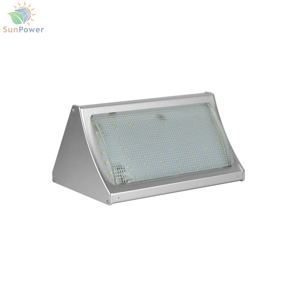 Lampa solara de perete cu telecomanda IP65 56 LED 10W 1000lm