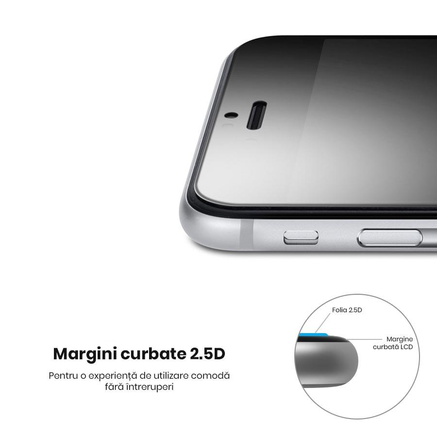 Folie de sticla iPhone 6 tempered glass protectie strat oleophobic