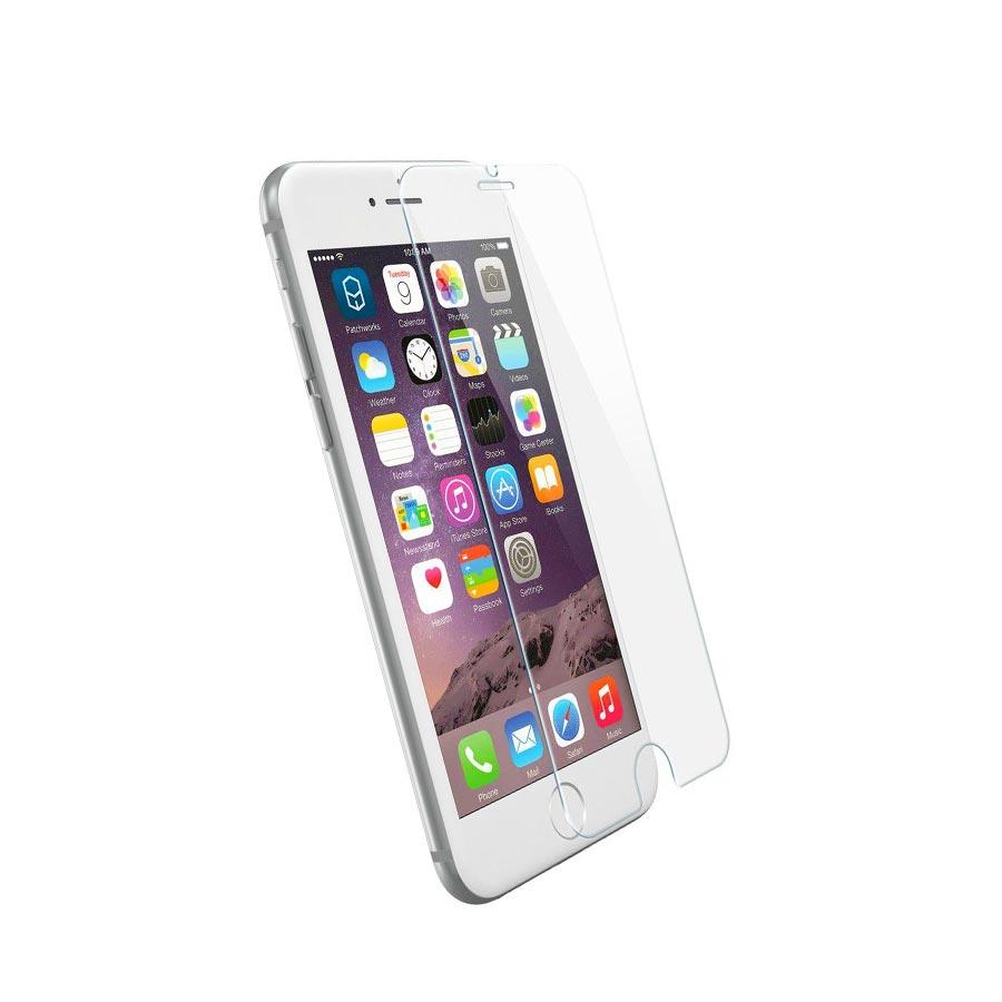 Folie sticla iPhone 6S rezistenta la zgarieturi cu strat oleophobic