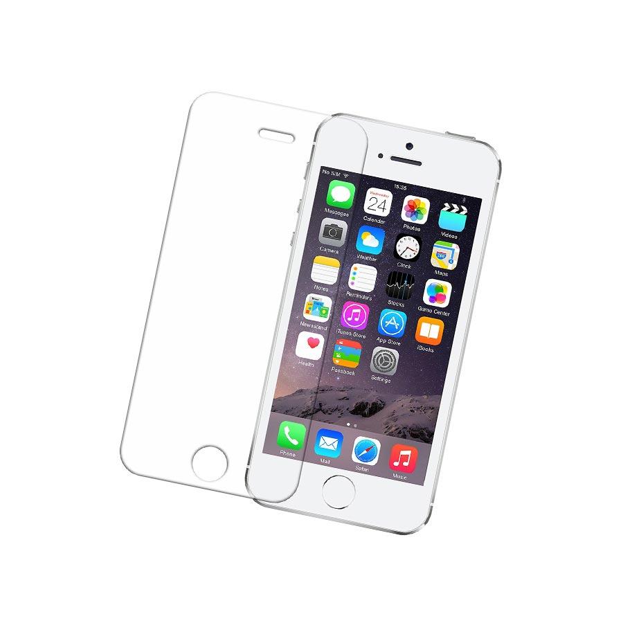 Folie sticla iPhone 5S tempered glass rezistenta la zgarieturi