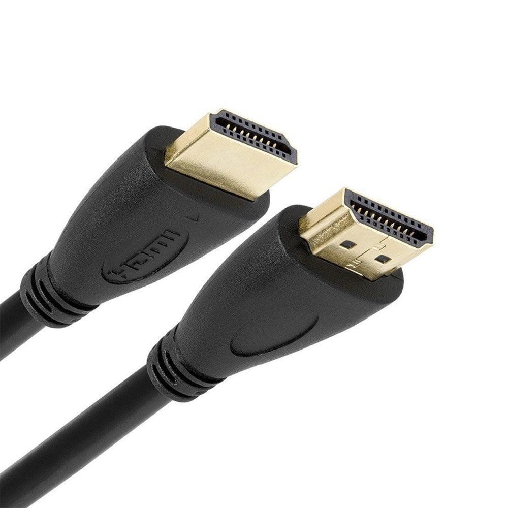 Cablu HDMI 1.4 ecranat cu o lungime de 100 cm negru