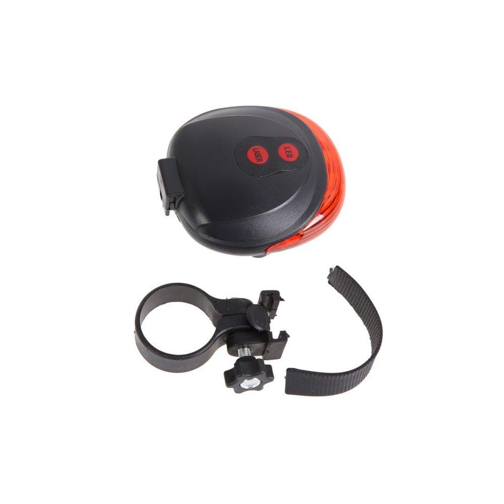 Stop bicicleta laser 5 LED IP44 delimitare distanta autovehicule
