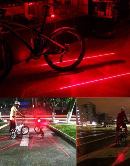 stop bicicleta laser