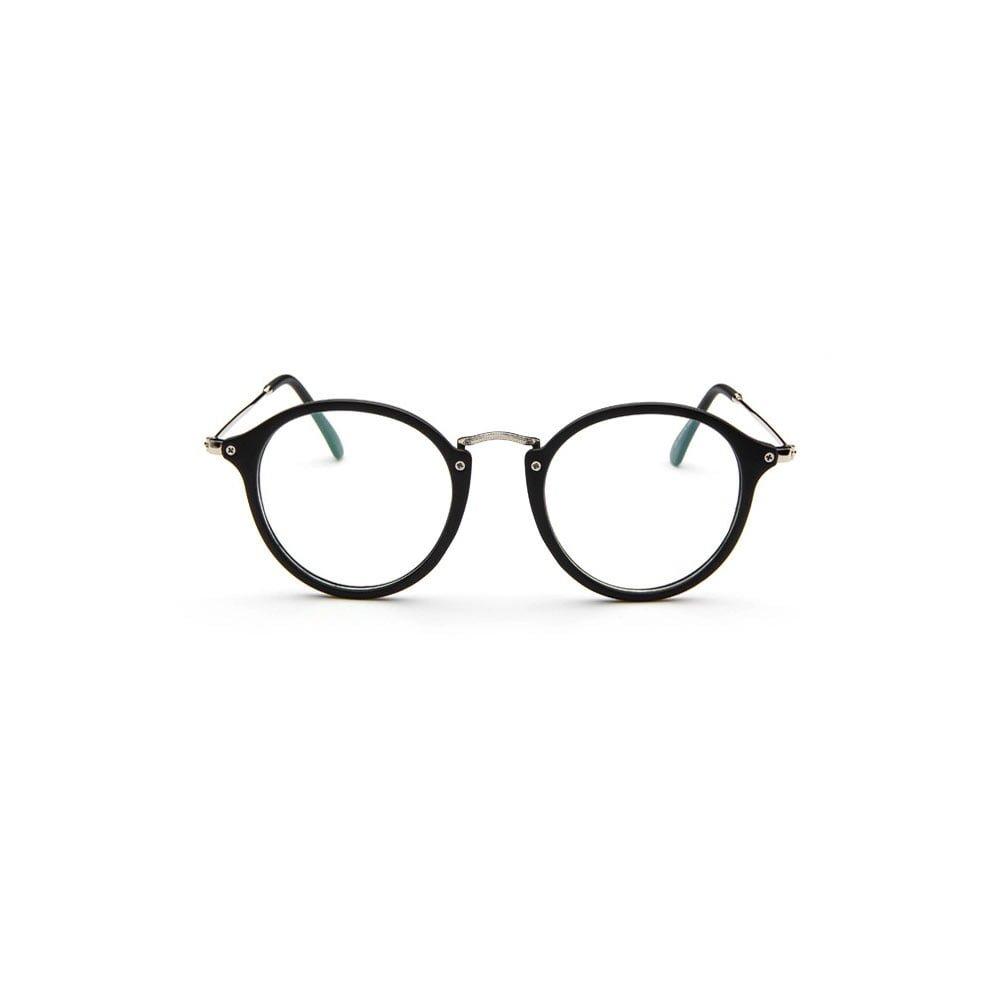 Ochelari lentile transparente Unisex model slim cu finish mat