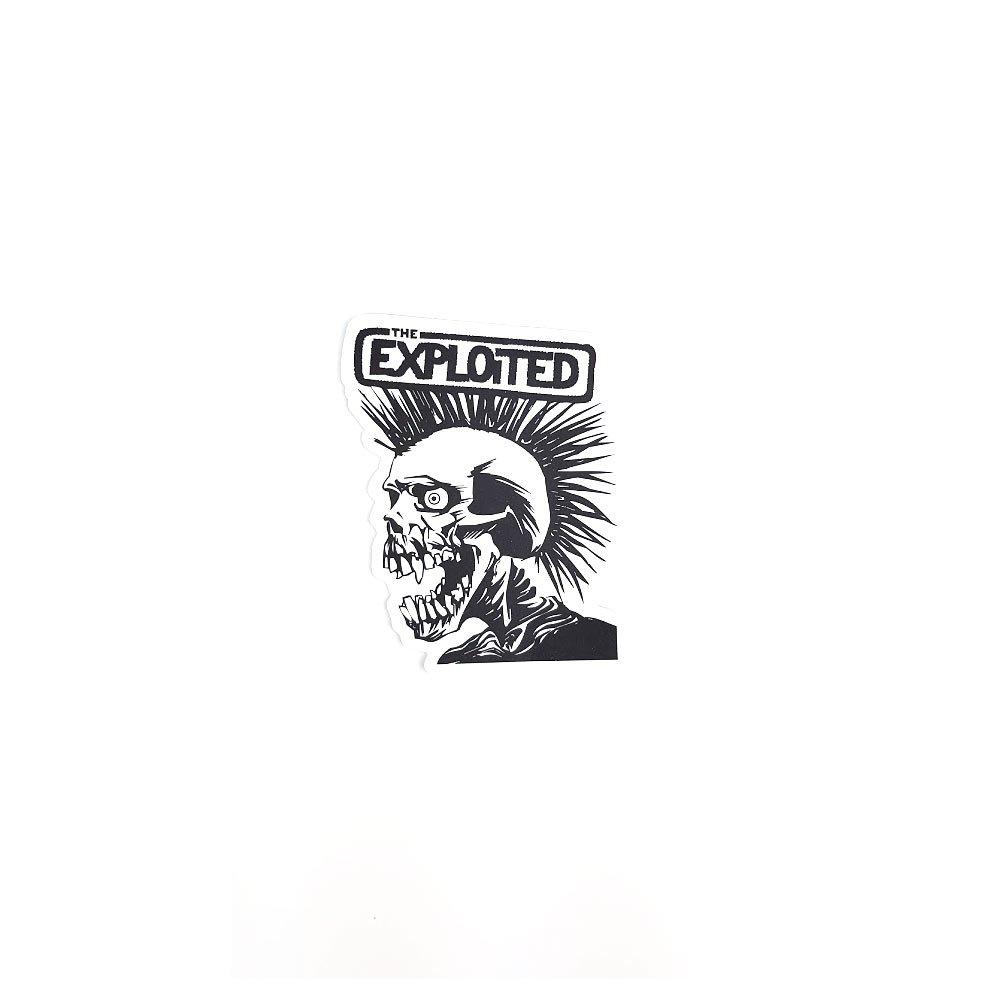 Sticker Exploited laptop, masina sau frigider adeziv laminat