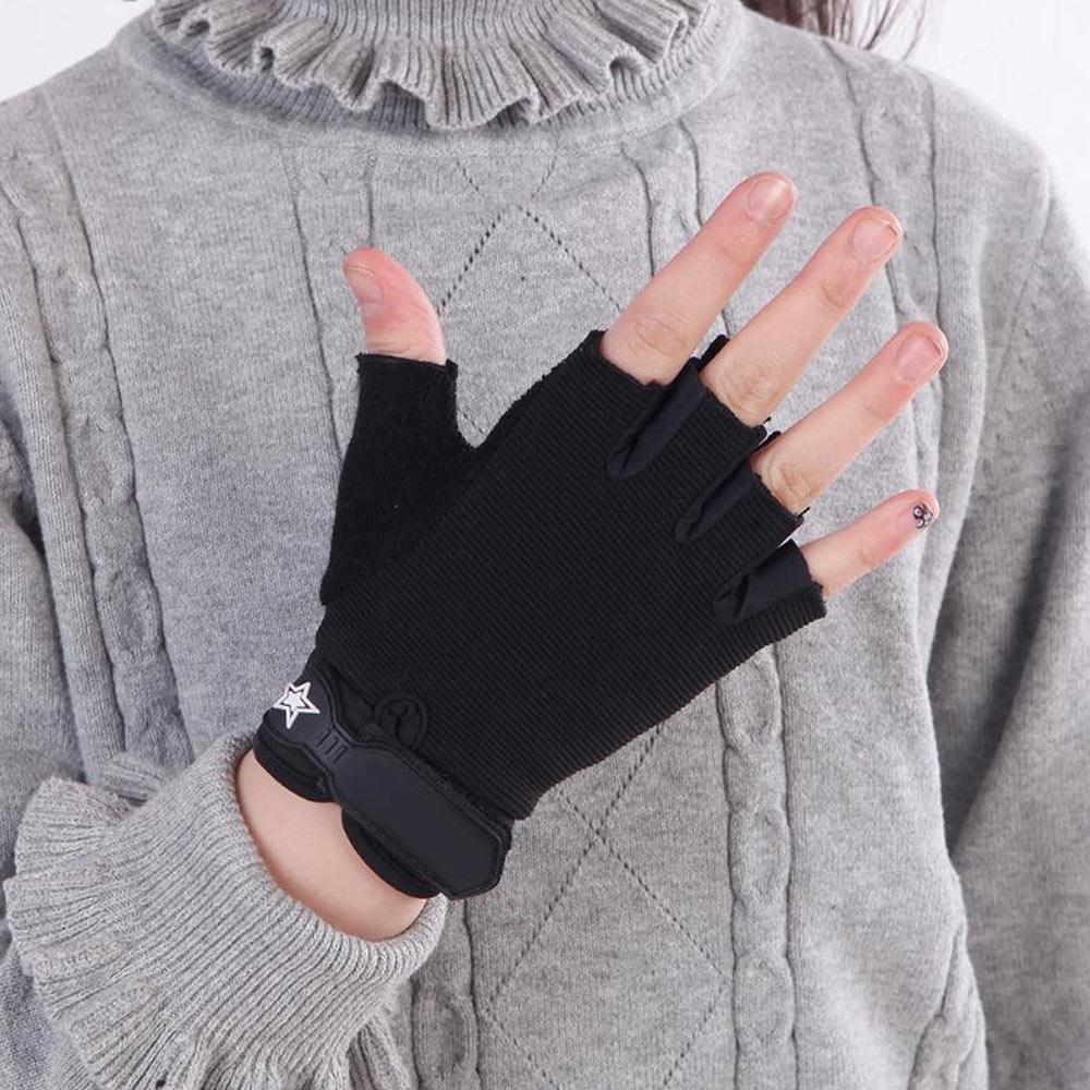 Manusi ciclism fara degete cu grip sporit si prindere cu velcro UNISEX