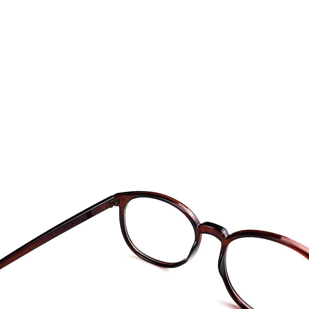 Ochelari lentile transparente model oversize cu balamale metalice UV400
