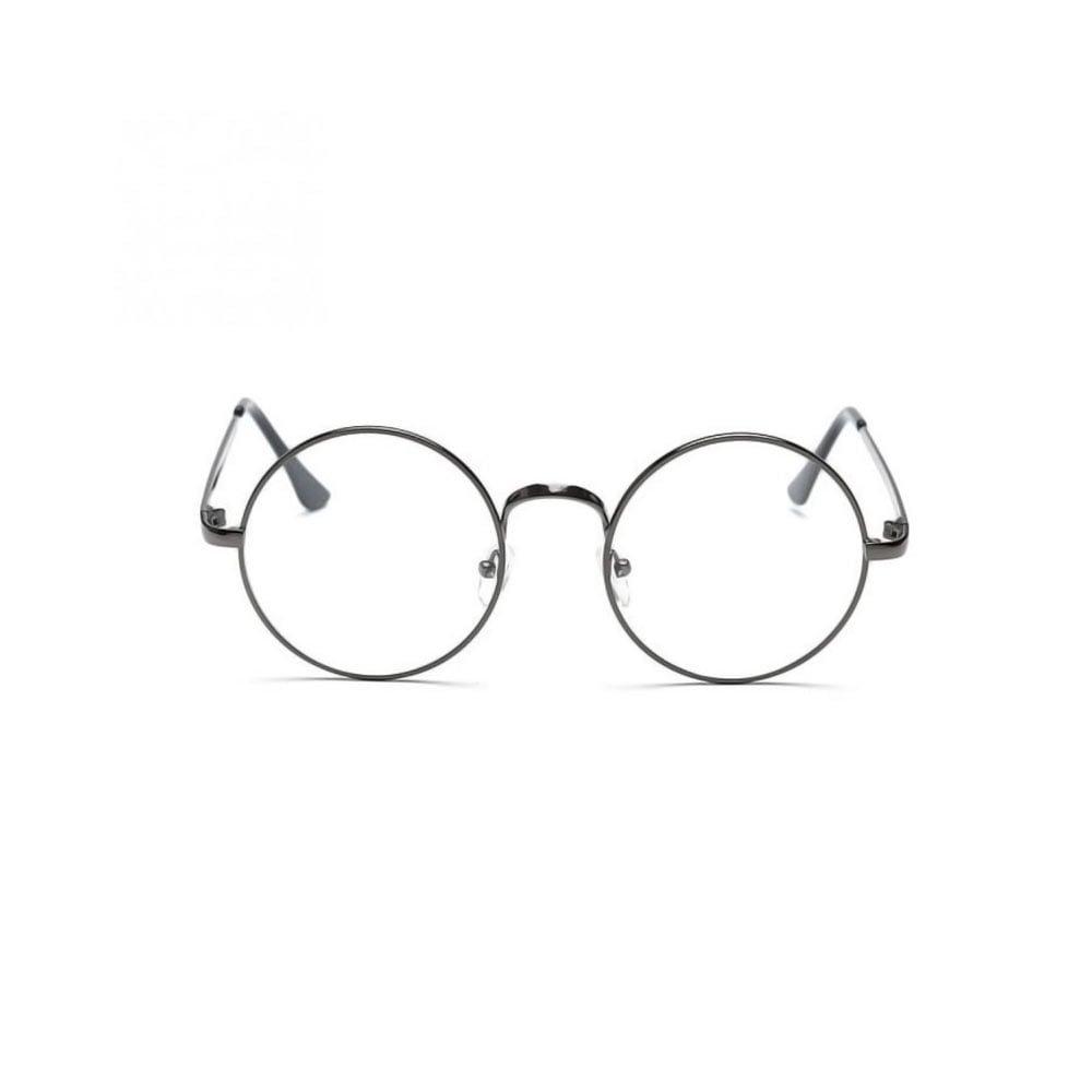 Ochelari lentile transparente din metal