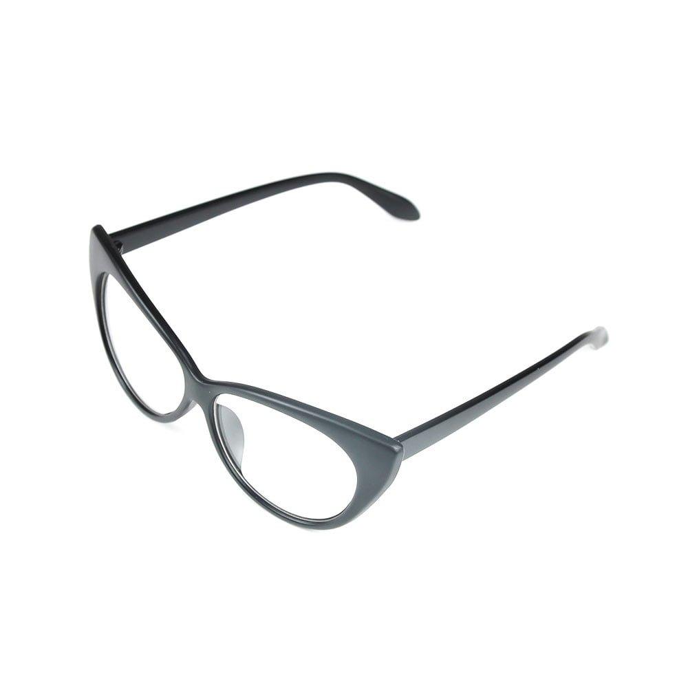 Ochelari lentile trasparente pentru femei model ochi de pisica vintage UV400