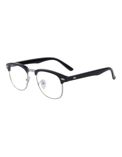 Ochelari lentile transparente balama metalica