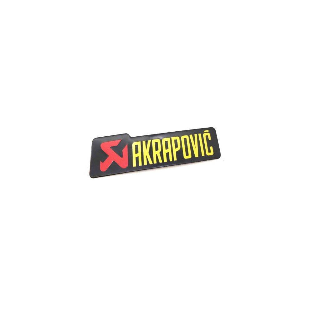 Emblema Akrapovic pentru esapament motocicleta rezistent la temperatura
