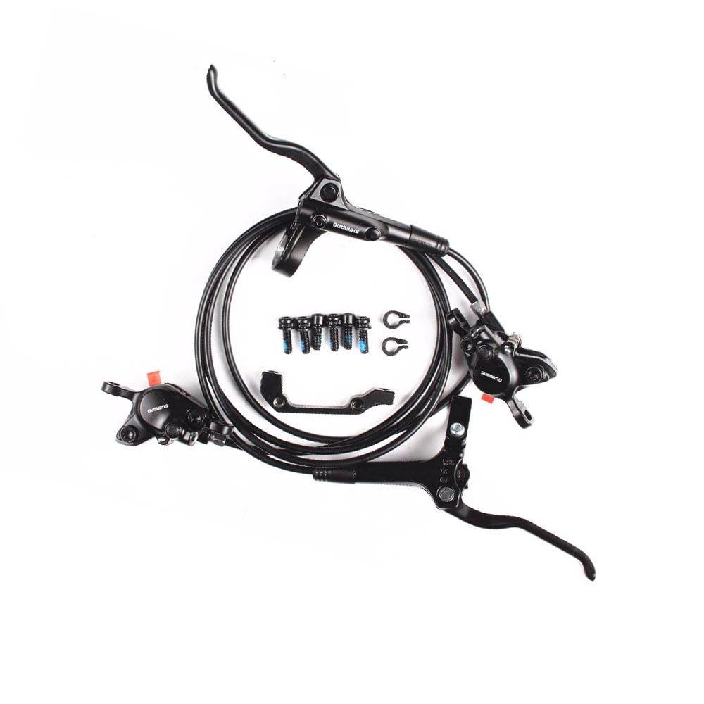 Set frane pe disc hidraulice Shimano BL-MT200 versiunea pentru 2018