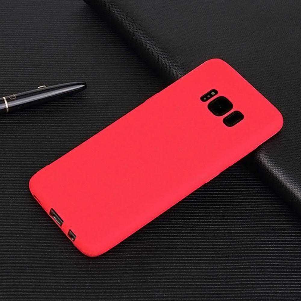 Husa Samsung Galaxy J3 2018 din ABS flexibil cu protectie medie la soc