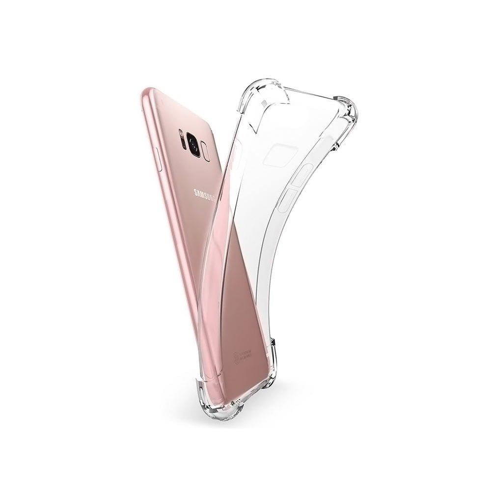 Husa Samsung Galaxy J5 (2017) cu protectie medie la soc din TPU transparent