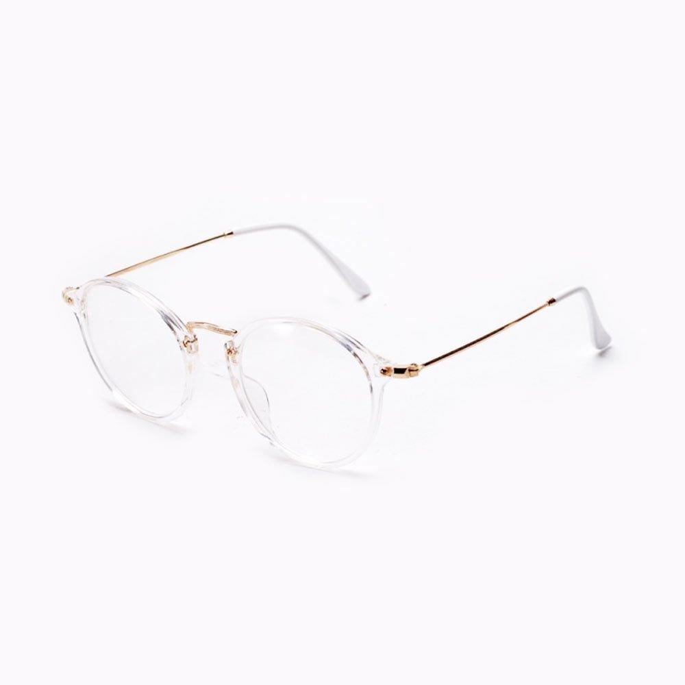 Ochelari lentile transparente cu rama opaca si protectie UV400 la lentila Unisex