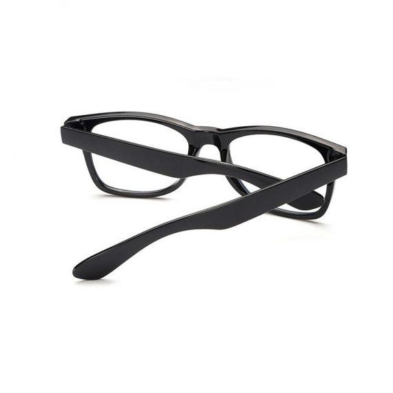 Ochelari lentile transparente stil Wayfarer din ABS culios UV400