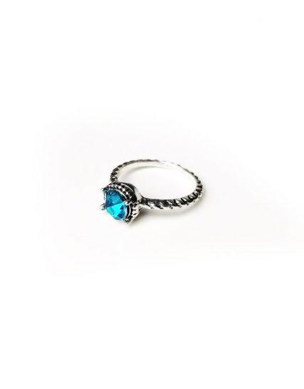 Inel pentru femei din aliaj Zinc cu model gravat