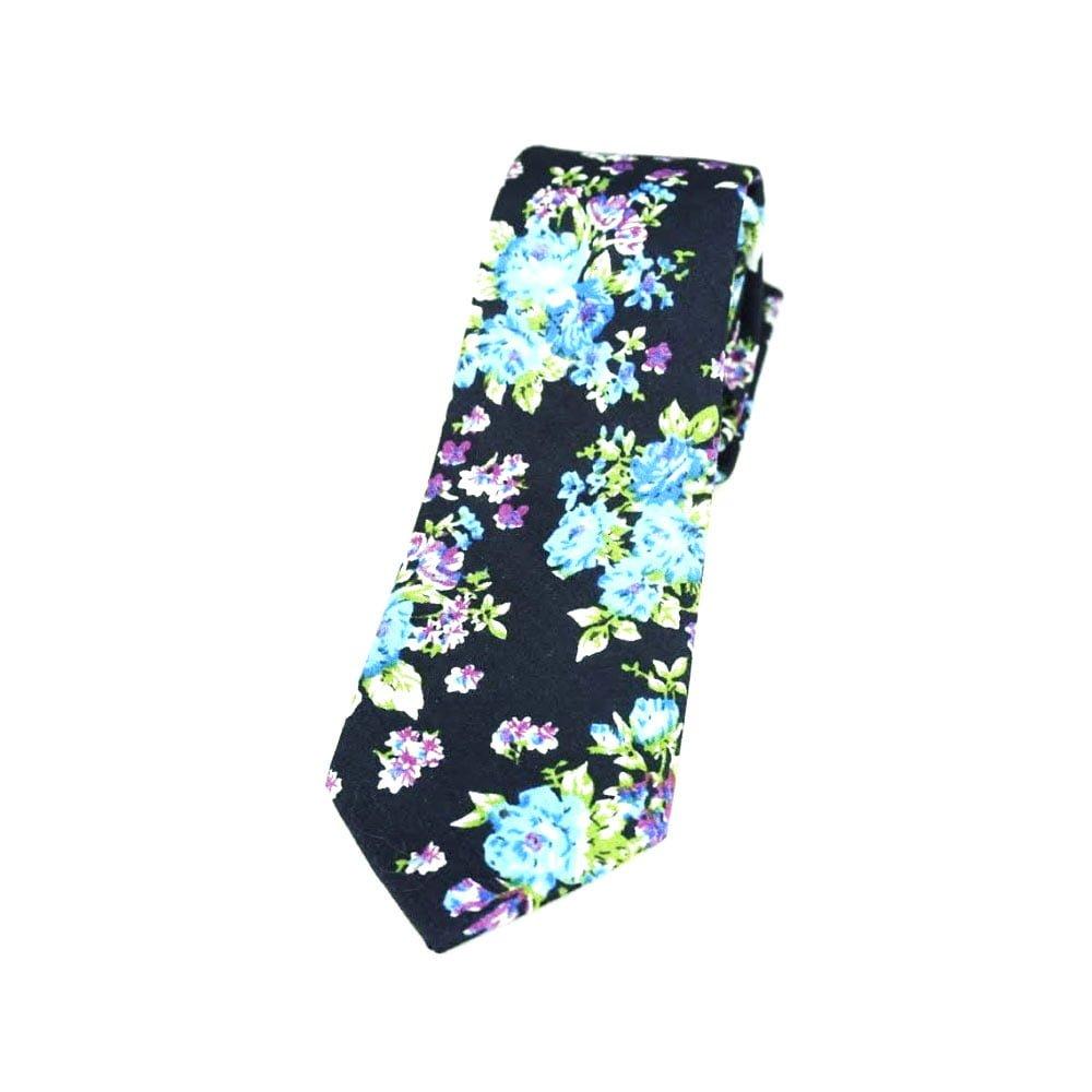 Cravata pentru barbati model cu trandafiri